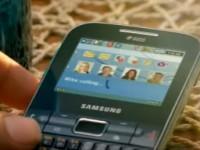 Рекламный ролик Samsung Ch@t 322