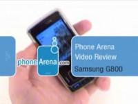 Видео обзор Samsung G800 от PhoneArena.com