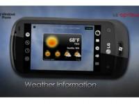 Промо видео LG C900 Optimus 7Q