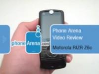 Видео обзор Motorola RIZR Z6c от PhoneArena.com