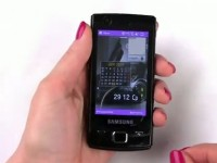 Видео обзор Samsung B7300