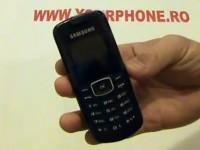 Видео обзор Samsung E1080T