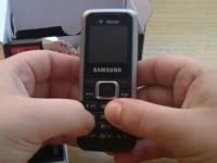 Видео обзор Samsung E1120