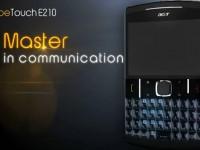Промо видео Acer beTouch E210