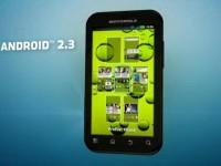 Промо видео Motorola Defy+