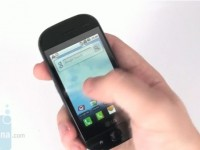 Видео обзор LG GW620