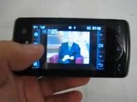 Видео обзор LG KB775 Scarlet