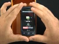 Видео обзор LG Sentio