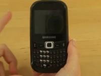 Видео обзор Samsung B3210 CorbyTXT