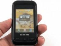 Видео обзор Samsung C3303