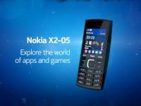 Промо видео Nokia X2-05