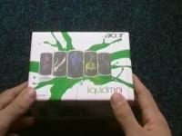 Acer Liquid mini E310: Комплектация