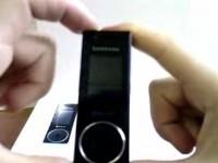 Видео обзор Samsung X830