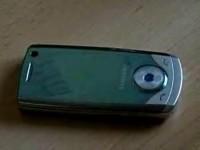 Видео обзор Samsung U700