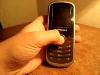 Видео обзор Motorola WX290