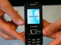Видео обзор Samsung E2550 Monte Slider