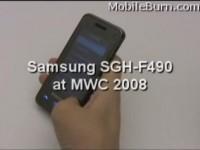 Мини обзор Samsung SGH-F490