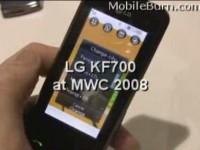 Мини обзор LG KF700