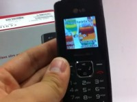 Видео обзор LG GS155