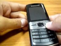Видео обзор Samsung C3011
