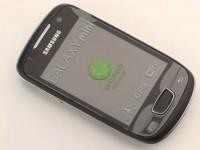 Видео обзор Samsung Galaxy Mini S5570