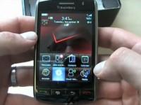 Видео обзор BlackBerry Storm 9530