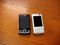 Видео обзор Nokia N95 vs N95 8GB от Cellularemagazine.it