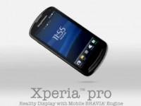 Демо видео Sony Ericsson XPERIA pro