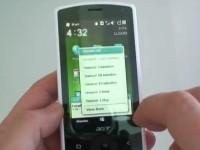 Видео обзор Acer beTouch E100