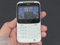 Видео обзор HTC Status