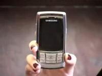 Видео обзор Samsung D840 от Shiny