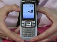 Видео обзор Samsung D840 от WorldGSM