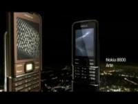 Рекламный ролик Nokia 8800 Arte and Nokia 8800 Arte Sapphire