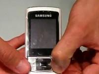 Видео обзор Samsung C3050