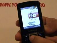 Видео обзор Samsung C5212