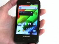 Видео обзор Samsung Captivate Glide