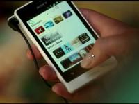 Промо видео Sony Xperia go