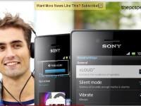 Промо видео Sony Xperia miro