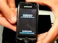 Видео обзор Samsung S8000 Jet 2Gb