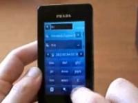 Видео обзор LG KE850 Prada