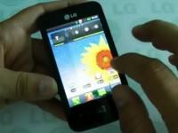 Видео обзор LG Optimus Hub E510