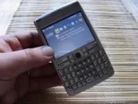 Видео обзор Nokia E62