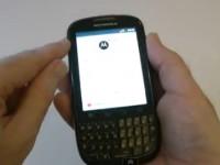 Видео обзор Motorola PRO+