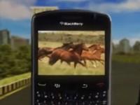 Демо видео BlackBerry Bold 9650