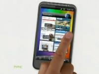 Демо видео HTC Desire HD
