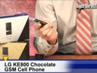 Видео обзор LG KE800 от TigerDirectBlog