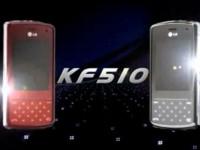 Демо видео LG KF510