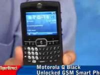 Видео обзор Motorola Q от TigerDirectBlog