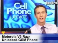 Видео обзор Motorola V3 RAZR от TigerDirectBlog