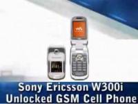 Видео обзор Sony Ericsson W300i от TigerDirectBlog